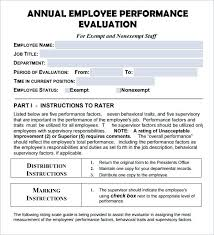 performance review comments annual employee review template employee appraisal form downloadable