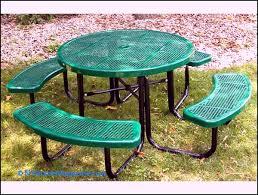 portable umbrella hole table