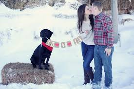25 Winter Save The Date Ideas 9 Dipped In Lace