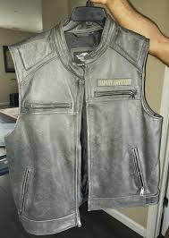 harley davidson leather jacket size xl