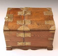 oriental teakwood kabuki make up box antiques clifieds