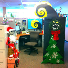 halloween office decoration. My Nightmare Before Christmas Decorate Cubical Contest #jack Skellington · Halloween Decorating IdeasHalloween Office DecorationsHalloween Decoration I