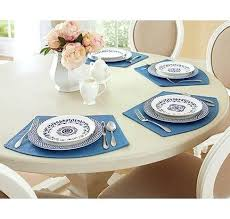 wedge placemats vinyl 4 pk uk shaped for round tables canada