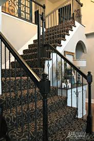 Patterned Stair Carpet Inspiration Patterned Stair Carpet