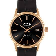 rotary mens avenger watch gs02874 06 rotary watches rotary avenger rose gold plated watch