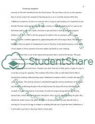smoking cessation term paper example topics and well written smoking cessation essay example