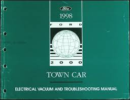 lincoln town car electrical and vacuum troubleshooting manual