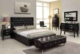 beautiful black modern bedroom furniture new mirror inside design