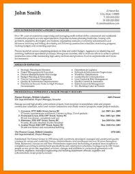 Canadian Resume Samples Professional Construction Site