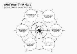 Spider Anatomy Chart Free Spider Map Graphic Organizer Templates