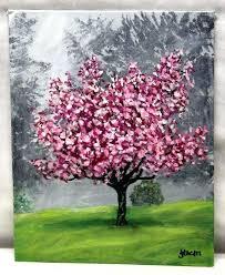 cherry blossom acrylic painting art cherry blossoms acrylic painting cherry blossom tree acrylic painting cherry blossom