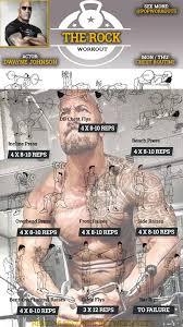 dwayne johnson chest workout
