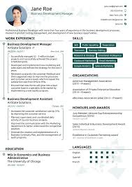 Resume Templates 24 Professional Resume Templates As They Should Be [24] 18