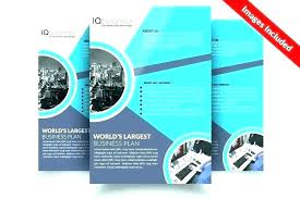 2 Folded Brochure Template One Page Flyer Template Free 1 4 1 Page Flyer Template 3