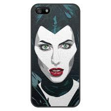Чехол для iPhone 5/5S, объёмная печать Maleficent (Анджелина ...