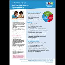 Speech Language Development Posters And Sheets 6 Year