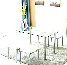 small glass kitchen table round glass dining room tables and chairs glamorous round glass dining table