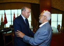 تونسيون يطالبون بسحب الثقة من الغنوشي بعد زيارته لأردوغان - خبر24 ـ xeber24