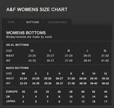 Hollister Shirt Size Chart Abercrombie And Fitch Size Chart Mens Www