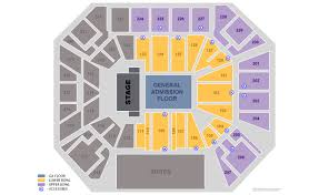 Wintrust Arena Seating Chart Concert The Millennium Tour 2020 Chicago Tickets At Wintrust Arena