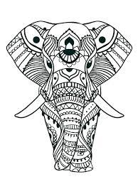 Elephant Mandala Coloring Page Pageselephant Pages Baby Elephants
