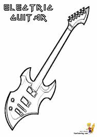 Who Else Wants Guitar Coloring Pages