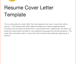 Cover Letter And Resume Templates Basic Cover Letter For Resume Templates Apptemplateorg Simple In 28