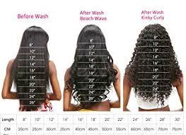 Hair Length Chart Weave