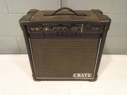 crate amp electric crate model g20 by slm guitar amplifier 60w max 18x18 amp acoustic 12
