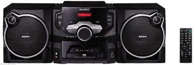 sony stereo system. sony fh-sr1d dvd tape cassette stereo system for europe asia 220v only sony stereo system
