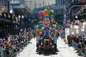 Mardi gras parade start time