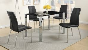 exciting oval varazze and room chair hideaway chrome sets black kitchen small round top chairs rovigo