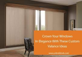 valance ideas for vertical blinds