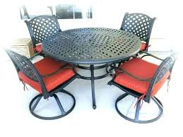 outdoor dining sets round table round outdoor patio table 7 piece round patio dining set patio