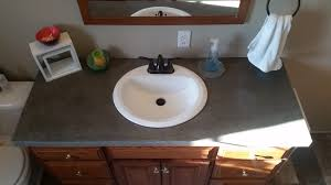 Concrete Sink Diy Diy Concrete Counter Top You Can Do This People Album On Imgur