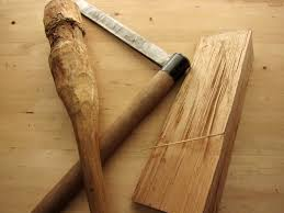 carved axe handle. turn your hatchet into a carving axe carved handle