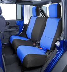 neoprene jeep seat covers all things jeep coverking neoprene rear seat covers for jeep