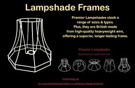 Premier Lampshades Stock High Quality British Lampshade Frames