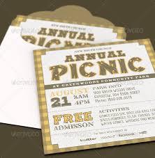 1800 Newspaper Template Annual Church Picnic Invite Card Template This Annual Chur