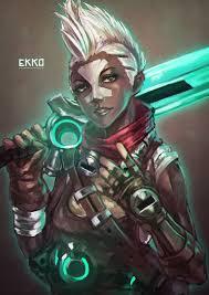 Ekko Designs League Of Legends Fem Ekko League Of Legends League Of