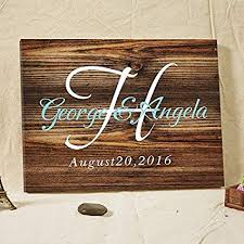 Sign Book For Wedding Amazon Com Wedding Guest Book Rustic Wooden Guest Book Sign