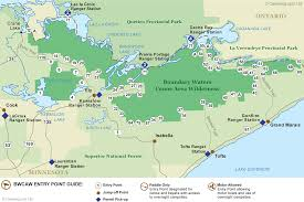 bwcaw entry point map · canoeingcom