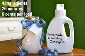 homemade laundry soap liquid detergent recipe