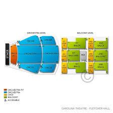 Carolina Theater Seating Chart Carolina Theatre Fletcher Hall Tickets