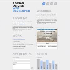 Free Resume Cv Web Templates Cv Web Templates Free Developer Template 100 Jobsxs 2