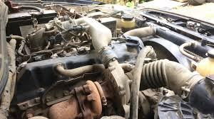 Toyota Hilux / Vigo / Revo 2.5 D4D 2KD-FTV turbo diesel engine start ...