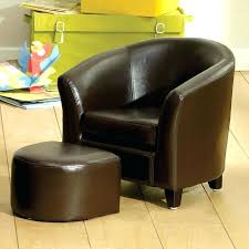 childrens leather chair kids brown faux leather tub chair and stool childrens leather chair canada
