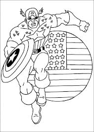 Small Picture Kids n funcom 22 coloring pages of Captain America