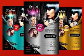 salon flyers 67 beauty salon flyer templates free psd eps ai ilrator