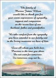 Thank You After Funeral How To Write Letters Of Sympathy